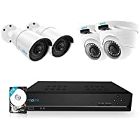 Reolink 8 Channel 5MP PoE Home Security Camera System with 2TB HDD (RLK8-410B2D2-5MP)