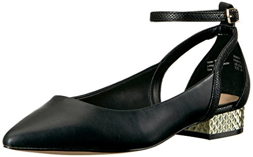 Aldo Women's Serisien Ballet Flat, Black Synthetic, 7 B US