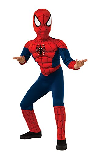 (Rubie's Costume Marvel Spider-Man Deluxe Fiber Optic Costume,)
