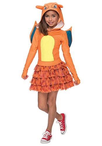 Rubie's Costume Pokemon Charizard Child Hooded Costume