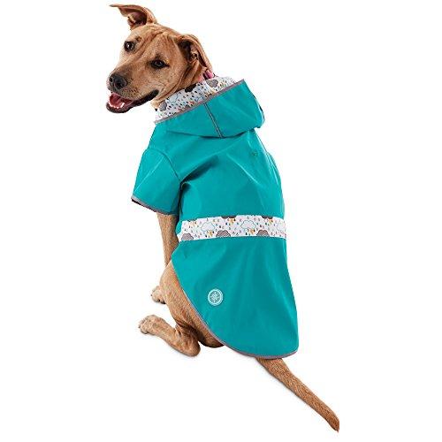 (Good2Go Reversible Dog Raincoat in Blue, Extra Large, X-Large)