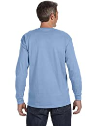 mens 5.6 oz. 50/50 Heavyweight Blend Long-Sleeve T-Shirt(29L)