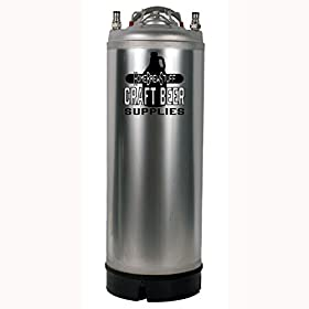 Cornelius Keg, 5 Gallon, Ball Lock, New
