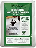 Hygea Natural KIng Size 100% Tear Free Vinyl Bed Bug Mattress Cover or Box Spring Cover | VINYL | 100% Waterproof Mattress Protector – Dust Mite & Allergen Proof – Box Spring Recommended.