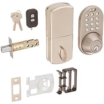 Milocks Xf 02sn Digital Deadbolt Door Lock With Keyless