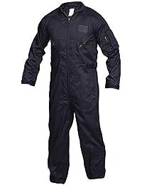 TRU-SPEC 2651003 27-P Basic Flight Suit, Small Regular, Navy