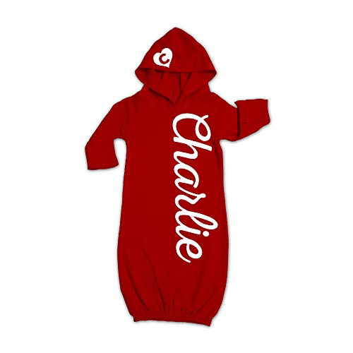 - Newborn 0-3 months Red Gown Coming Home Outfit 0-3 months Red Hooded Baby Gown Christmas Eve Baby Outfit Baby Dress Baby Boy Baby Girl