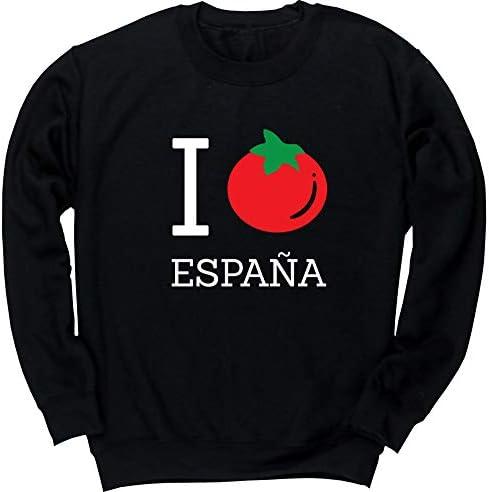 HippoWarehouse I Tomato Love Espana Jersey Sudadera suéter Derportiva Unisex niños niñas: Amazon.es: Ropa y accesorios