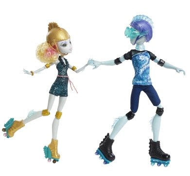 Monster High Lagoona Blue & Gillington