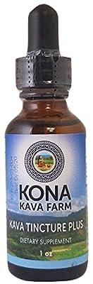 Kona Kava Farm Kava Liquid Extract Premium Tincture 6% Kava Tincture (1oz)