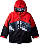 Under Armour Boys' Little Zumatrek Jacket, red 4