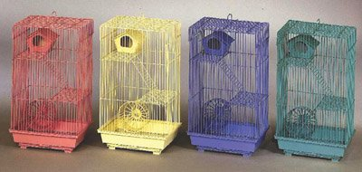 3 Story Gerbil Or Hamster Cage Case 4