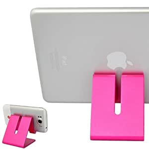 First2savvv pink hard Steel stand desktop dock docking station for Lenovo IDEATAB S6000