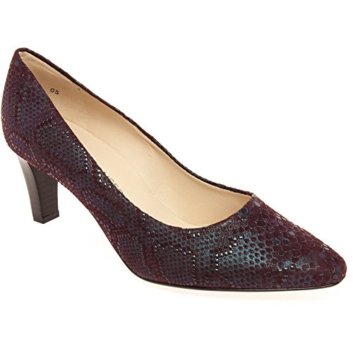 Women's 214 Malia In 204 Court 3 Cabernet Leather Shoe Cabernet UK Peter 68801 Kaiser qxnwvUUR