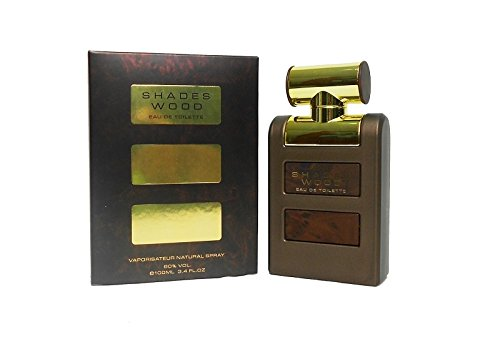 NICHE BRANDS ARMAF SHADES WOOD 3.4 oz PERFUME SPRAY FOR ()