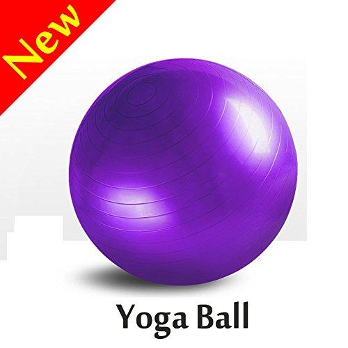 Exercise Ball,V-Resourcing Non-Slip Anti Burst Fitness Ball for Full Body Workout, CrossFit, Yoga, Pilates (65CM)