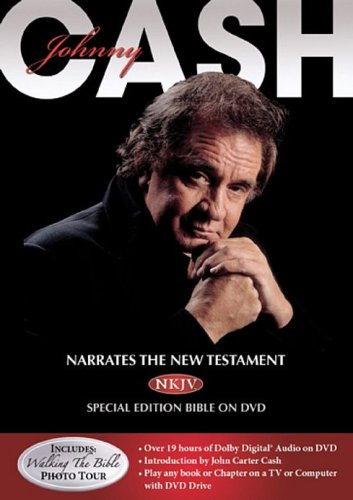 Johnny Cash Narrates the NKJV® New Testament Bible by Rykodisc