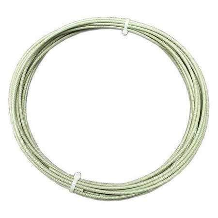 Loos SF04777D01 Cable, 302/304 Stainless Steel, Coated