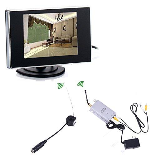 HDE Mini Pinhole Wireless Nanny Camera CCTV Security Video +