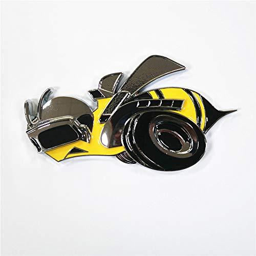 Big Super Bee Car Custom Badge Metal Chrome 3D Rear Trunk Body Emblem Auto Custom Stickers for New Styling
