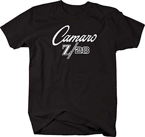 Camaro Z/28 Z28 Classic Look Chevy Racing Vintage Mens T Shirt - - Graphic Camaro Tee