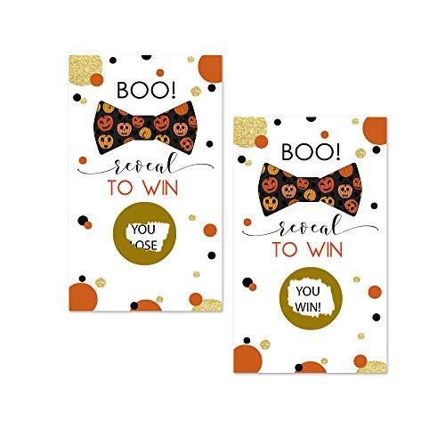 Halloween Pumpkin Scratch Off Game Card (28 Pack) -