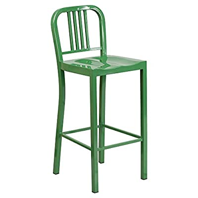 Flash Furniture Metal Counter Height Stool