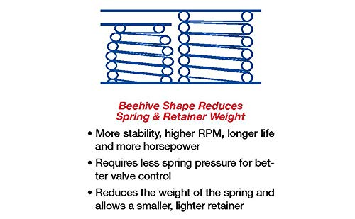 COMP Cams 26981-8 Beehive 1.065//1.240 O.D Valve Spring, Set of 8