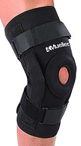 Mueller Hinged Knee Brace Deluxe, Medium, 1-Count Package