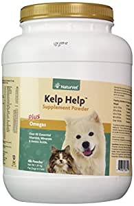 NaturVet Kelp Help for Dogs and Cats, 4-Pound