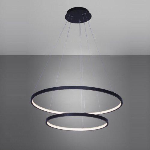 Black Acrylic Pendant Light