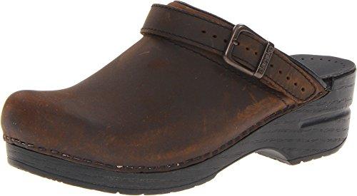 Dansko Women's INGRID Shoe, Antique Brown/Black, 39 Medium EU (8.5-9 US) ()