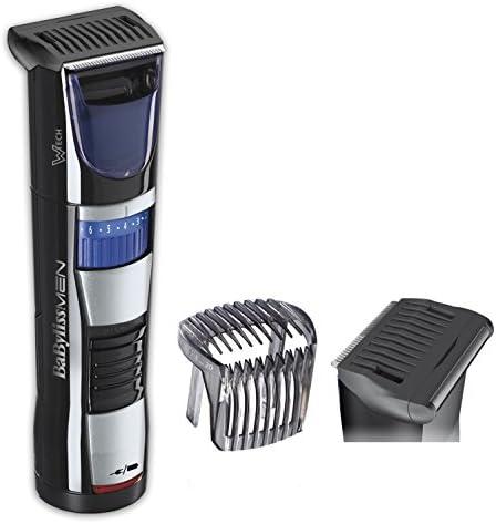 BaByliss T840E - Afeitadora y recortadora de barba, cuchillas resistentes de acero inoxidable, 60 minutos de autonomía, uso con y sin cable, negro: Amazon.es: Salud y ...