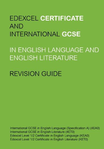 amazon com edexcel igcse and certificate in english language and rh amazon com Edexcel IGCSE English Past Papers igcse study guide for first language english pdf