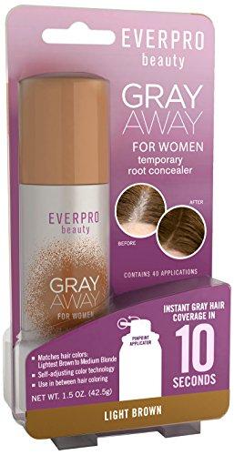 Gray Away Women's Hair Highlighter, Light Brown, 1.5 Ounce