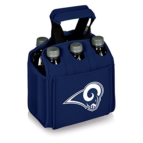 PICNIC TIME NFL LA Rams Six Pack Digital Print Tote, One Size, Navy by PICNIC TIME