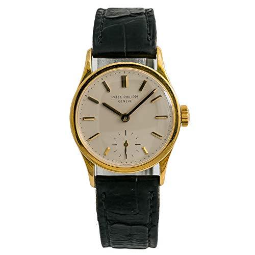 Patek Philippe Calatrava Mechanical-Hand-Wind Male Watch 96J (Certified - Watch Calatrava Philippe Patek Mechanical