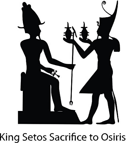 ThatVinylPlace King-Setos-Sacrifice-To-Osiris Egyp autocollant de ...