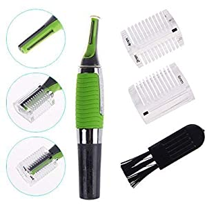 Octopus prime The Original Micro Touches Max Hair Trimmer Cordless Great for Travel Nose Hair Trimmer with Built In LED Light Max All in One Personal Trimmer for Men (Multicolored)