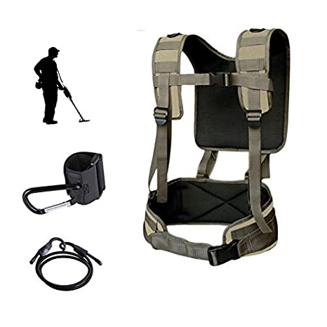 Amazon.com : shrxy Metal Detector Generic Detecting Harness Sling Easy Swing Limb arm Saver Support Garden Metal Detector : Garden & Outdoor