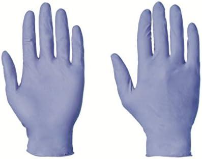 Gants jetables en nitrile non poudr/és 100 Taille S Bleu