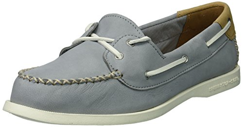Sperry Top-sider Donna A / O Venezia Scarpa In Pelle Grigia