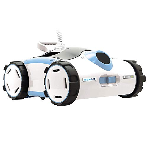 - Aquabot Breeze SE Hyper-Speed Scrubbing Above and In-Ground Robotic Pool Cleaner