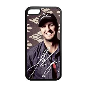 Hard Rubber Special Design iPhone 5c Cover Luke Bryan Case for iPhone 5c