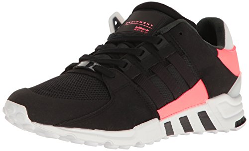 adidas Originals Men's Shoes | EQT Support Rf Fashion Sneakers, Black/Black/Turbo Fabric, (12 M US)