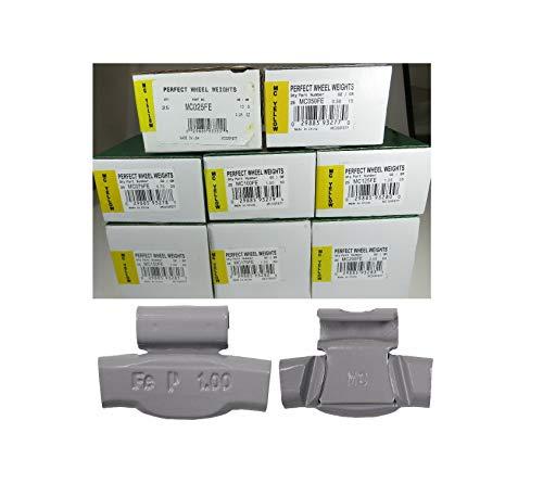 200Pks MC Style Wheel Weight Assortment Auto Car Balancer 1/4 to 2.0 fl.oz Quick Delivery