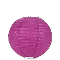 rm_sms Fuchsia Chinese Paper Lantern for Wedding Party 14 Inch