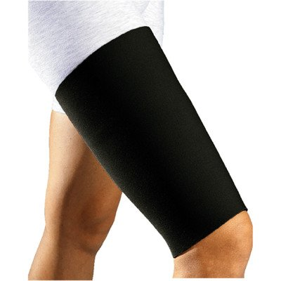 Bellhorn Thigh Sleeve in Black / Red Size: Small