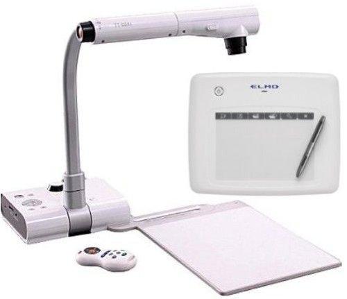 Elmo 1304-7 TT-02RX Document Camera and CRA-1 Wireless Pen Tablet Bundle System; 30 frames per second real time image; High resolution XGA, WXGA, and SXGA from a 1.3 MP CMOS Sensor