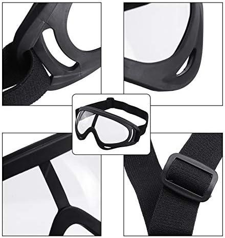 A SGODDE Gafas de Seguridad,Gafas M/édicas Anti-virus,Protecci/ón Ocular,Anti-virus,Anti-vaho,Anti-saliva,Gafas de Visi/ón Completa Transpirables a Prueba de Salpicaduras,para adultos//ni/ños unisex